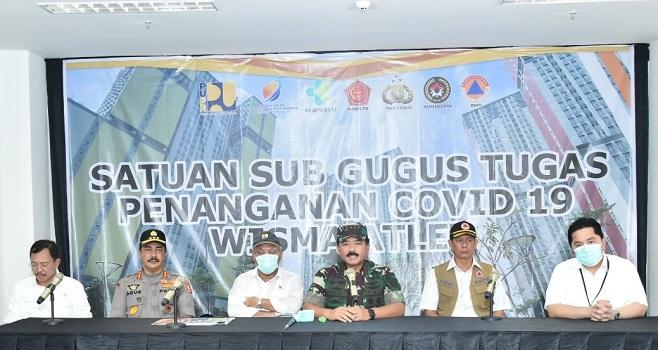 Wisma Atlet Kemayoran Telah Siap Jadi RS Darurat Covid-19