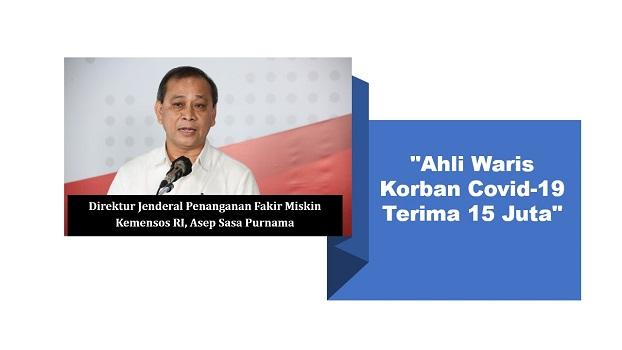 Direktur Jenderal Penanganan Fakir Miskin Kemensos RI, Asep Sasa Purnama