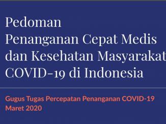 Pedoman Tenaga Medis dan Masyarakat Hadapi Penanganan COVID-19