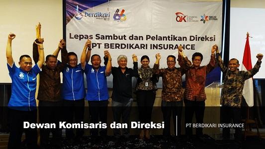 Dewan Komisaris dan Direksi PT Berdikari Insurance