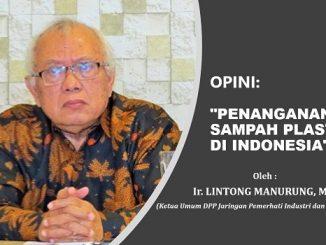PENANGANAN SAMPAH PLASTIK DI INDONESIA