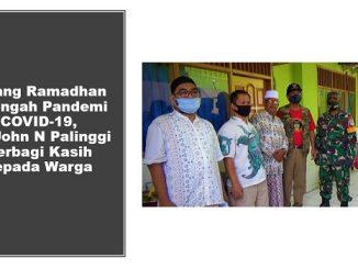 Jelang Ramadhan Ditengah Pandemi COVID-19, DR John N Palinggi Berbagi Kasih kepada Warga