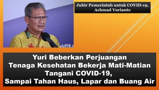 Yuri Beberkan Perjuangan Tenaga Kesehatan Bekerja Mati-Matian Tangani COVID-19, Sampai Tahan Haus, Lapar dan Buang Air