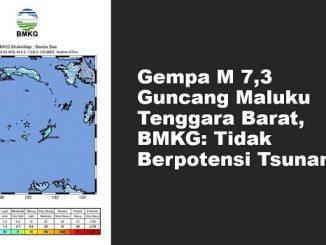 Gempa M 7,3 Guncang Maluku Tenggara Barat, BMKG: Tidak Berpotensi Tsunami