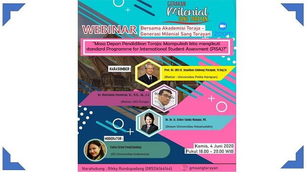 Milenial Toraja Gelar Diskusi Bedah Programme for International Student Assessment