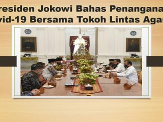 Presiden Jokowi Bahas Penanganan Covid-19 Bersama Tokoh Lintas Agama