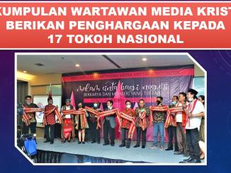 Perkumpulan Wartawan Media Kristiani Berikan Penghargaan Kepada 17 Tokoh Nasional