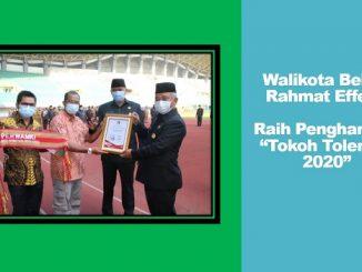 "Walikota Bekasi Rahmat Effendi diganjar Penghargaan ""Tokoh Toleransi 2020"""